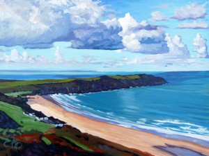 Coastal Painting Holidays & Oil Painting Lessons