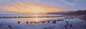 Winter sunrise, Robin Hood's Bay